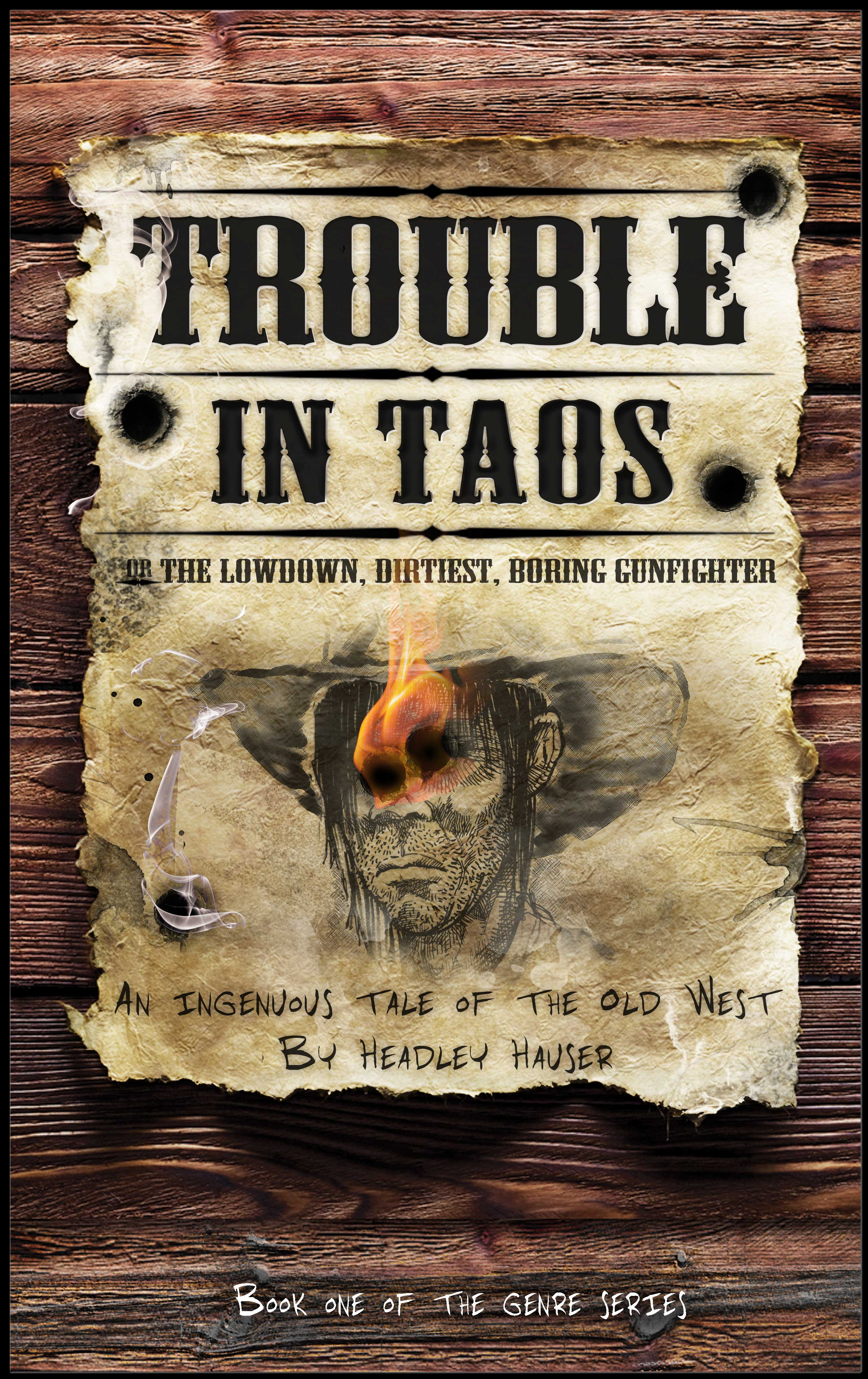 Trouble in Taos cover